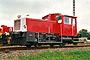 """Gmeinder 5387 - DB """"332 221-1"""" 23.09.2000 - Kempten (Allgäu), BahnbetriebswerkDietmar Stresow (Archiv Frank Glaubitz)"""