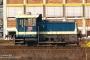 """Gmeinder 5411 - DB Regio """"Werklok 1"""" 09.04.2007 - Hof, BetriebshofMichael Butz"""