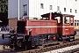 """Gmeinder 5429 - DB """"333 027-1"""" 30.07.1982 - Treuchtlingen, BahnhofRolf Köstner"""