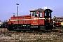 """Gmeinder 5434 - DB """"335 032-9"""" 04.03.1992 - Mühldorf, BahnbetriebswerkE. von Natzmer"""