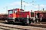 """Gmeinder 5437 - DB Schenker """"335 035-2"""" 03.03.2010 - Bebra, RangierbahnhofThomas Reyer"""