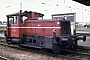 """Gmeinder 5464 - DB """"333 068-5"""" 17.08.1989 - Heilbronn, HauptbahnhofGerd Hahn"""
