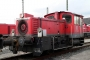 """Gmeinder 5493 - Railion """"335 103-8"""" 08.03.2007 - Hagen-Vorhalle, BahnbetriebswerkBernd Piplack"""