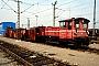 """Gmeinder 5495 - DB """"333 105-5"""" 15.03.1987 - Mannheim, BahnbetriebswerkErnst Lauer"""