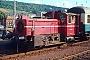 """Gmeinder 5496 - DB """"333 106-3"""" 24.07.1978 - Trier, HauptbahnhofDieter Spillner"""