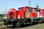 """Gmeinder 5498 - DB Cargo """"335 108-7"""" 11.10.2001 - Offenburg, BahnbetriebswerkBernd Piplack"""