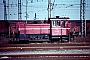 """Gmeinder 5498 - DB """"333 108-9"""" 14.02.1988 - Mannheim, RangierbahnhofErnst Lauer"""