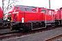 """Gmeinder 5505 - Railion """"335 142-6"""" 01.12.2003 - Mainz-Bischofsheim, RangierbahnhofBernd Piplack"""