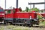 """Gmeinder 5508 - Railion """"335 144-2"""" 10.06.2006 - Haltingen, BahnbetriebswerkTheo Stolz"""
