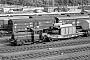 """Gmeinder 5510 - DB """"333 147-7"""" 18.07.1983 - Weinheim (Bergstraße), HauptbahnhofChristoph Beyer"""