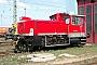 """Gmeinder 5510 - Railion """"333 647-6"""" 12.04.2004 - Mannheim, BetriebshofErnst Lauer"""