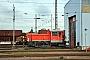 """Gmeinder 5510 - DB Schenker """"333 647-6"""" 04.11.2014 - Mannheim, Rangierbahnhof, WaschhalleJens Grünebaum"""