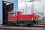 """Gmeinder 5510 - Railion """"333 647-6"""" 29.02.2008 - Mannheim, Rangierbahnhof, WaschhalleIngmar Weidig"""