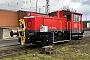 """Gmeinder 5525 - DB Cargo """"335 238-2"""" 04.02.2020 - Seelze, Betriebshofdeutsche-kleinloks.de Archiv"""