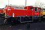 """Gmeinder 5535 - DB AG """"335 248-1"""" 13.12.1997 - Braunschweig, BahnbetriebswerkNorbert Schmitz (Archiv Frank Glaubitz)"""