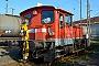 """Gmeinder 5535 - Railion """"335 248-1"""" 31.10.2015 - Osnabrück, Güterwagenwerkstatt HauptbahnhofGarrelt Riepelmeier"""