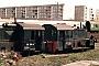 """Henschel 22220 - DR """"310 190-4"""" __.04.1995 - Aschersleben, BahnbetriebswerkSteffen Hennig"""