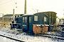 """Henschel 22327 - DR """"100 530-5"""" 21.01.1996 - Riesa, BahnbetriebswerkDaniel Kirschstein (Archiv Tom Radics)"""