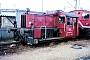"""Jung 13184 - DB AG """"323 816-9"""" 03.03.1996 - Mannheim, BetriebshofErnst Lauer"""
