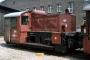 """Jung 13199 - DB """"323 831-8"""" 02.06.1984 - Freiburg, BahnbetriebswerkJoachim Lutz"""
