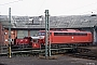 """Jung 13217 - DB """"323 849-0"""" 08.03.1991 - Bebra, BahnbetriebswerkIngmar Weidig"""