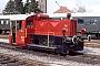 """Jung 13218 - TWE """"Köf 11"""" 07.04.1992 - Lengerich-Hohne, TWE  BahnbetriebswerkRolf Köstner"""