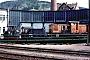 """Jung 5629 - DR """"100 427-4"""" 22.04.1990 - Meiningen, BahnbetriebswerkFrank Glaubitz"""