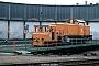 """LEW 12566 - DB AG """"ASF 34"""" 22.01.1994 - Meiningen, BetriebshofAdrian Nicholls (Archiv Manfred Uy)"""