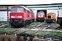 "LKM 262035 - DB AG ""312 001-1"" 11.10.2003 - Halle (Saale) Gbf, BwMichael Uhren"