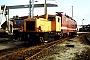 "LKM 262104 - DR ""312 055-7"" 25.09.1993 - Rostock, BahnbetriebswerkOlaf Wrede (Archiv Marcel Jacksch)"