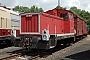 """LKM 265083 - Privat """"312 183-7"""" 09.07.2008 - Glauchau, BahnbetriebswerkStefan Kier"""