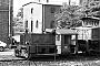"O&K 20510 - DB ""323 974-6"" 12.07.1978 - Heidelberg, BahnbetriebswerkBernhard König"