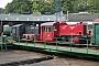 """O&K 20971 - Wiehltalbahn """"323 462-2"""" 02.10.2005 - Gummersbach-Dieringhausen, EisenbahnmuseumMalte Werning"""