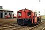 """O&K 26000 - DB """"323 161-0"""" 31.06.1991 - Hamburg-Eidelstedt, Bahnbetriebswerk Hamburg 1JTR (Archiv Werner Brutzer)"""