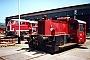 "O&K 26024 - DB ""323 185-9"" 26.07.1990 - Trier, BahnbetriebswerkAndreas Kabelitz"