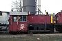 "O&K 26025 - DB AG ""323 186-7"" 23.02.1997 - Hamburg-Wilhelmsburg, BetriebshofJTR (Archiv Werner Brutzer)"