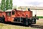 """O&K 26027 - DB """"323 188-3"""" 19.05.1991 - Hamburg-Wilhelmsburg, Betriebswerk Hamburg 4Werner Brutzer"""