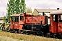 """O&K 26074 - DB """"323 190-9"""" 19.05.1991 - Hamburg-Wilhelmsburg, Bahnbetriebswerk Hamburg 4JTR (Archiv Werner Brutzer)"""