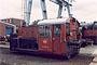 """O&K 26083 - DB """"323 297-2"""" 04.06.1988 - Osnabrück, BahnbetriebswerkAndreas Böttger"""