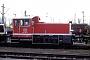"O&K 26302 - DB AG ""332 007-4"" 23.02.1997 - Hamburg-Wilhelmsburg, BetriebshofJTR (Archiv Werner Brutzer)"
