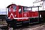 "O&K 26352 - DB AG ""332 114-8"" 03.03.1996 - Mannheim, BetriebshofErnst Lauer"