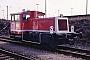 """O&K 26352 - DB AG """"332 114-8"""" 27.02.1994 - Mannheim, BahnbetriebswerkErnst Lauer"""