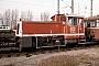 "O&K 26365 - DB AG ""332 128-8"" 06.01.1995 - Karlsruhe, DB AG BahnbetriebswerkErnst Lauer"