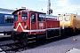 """O&K 26365 - DB """"332 128-8"""" 18.07.1993 - Karlsruhe, BahnbetriebswerkErnst Lauer"""