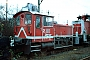 "O&K 26419 - DB Cargo ""332 304-5"" 16.12.2001 - Frankfurt (Main), Betriebshof Frankfurt (Main) 2Ralf Lauer"