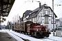 "O&K 26469 - DB AG ""335 160-8"" 21.01.1981 - Oberursel, BahnhofArchiv Rolf Köstner"