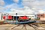 """O&K 26479 - DB Regio """"333 670-8"""" 11.08.2018 - Rostock, Betriebshof Rostock Hauptbahnhof Peter Wegner"""