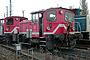 "O&K 26493 - DB Cargo ""335 184-8"" 16.11.2003 - Magdeburg-Rothensee, Bahnbetriebswerk Bernd Piplack"