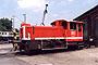 """O&K 26910 - DB """"335 200-2"""" 30.06.1990 - Kassel, Bahnbetriebswerk Andreas Böttger"""