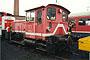 """O&K 26920 - DB AG """"335 210-3"""" 13.12.1997 - Braunschweig, BahnbetriebswerkNorbert Schmitz (Archiv Frank Glaubitz)"""